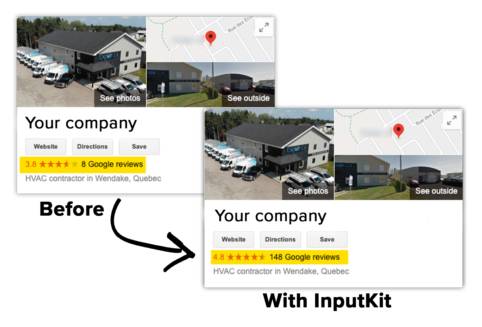 collect 3-10x more Google reviews automatically